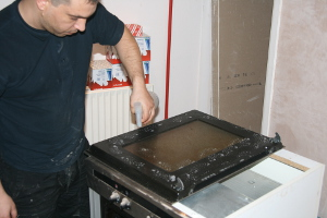 Oven cleaning White City W12