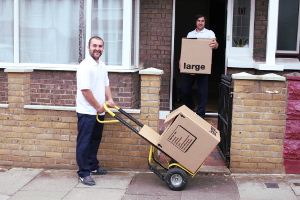 Removals man & van Hackney E