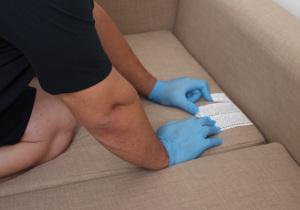 Upholstery cleaning in Western Avenue W3
