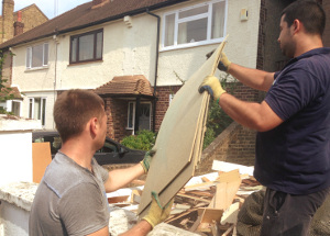 Rubbish removal in West Acton W3