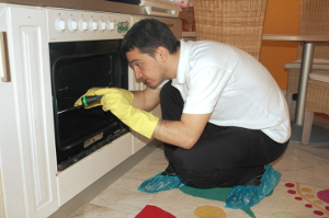 Oven cleaning Custom House E6