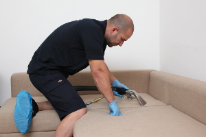 Professional sofa cleaning in St James KT3